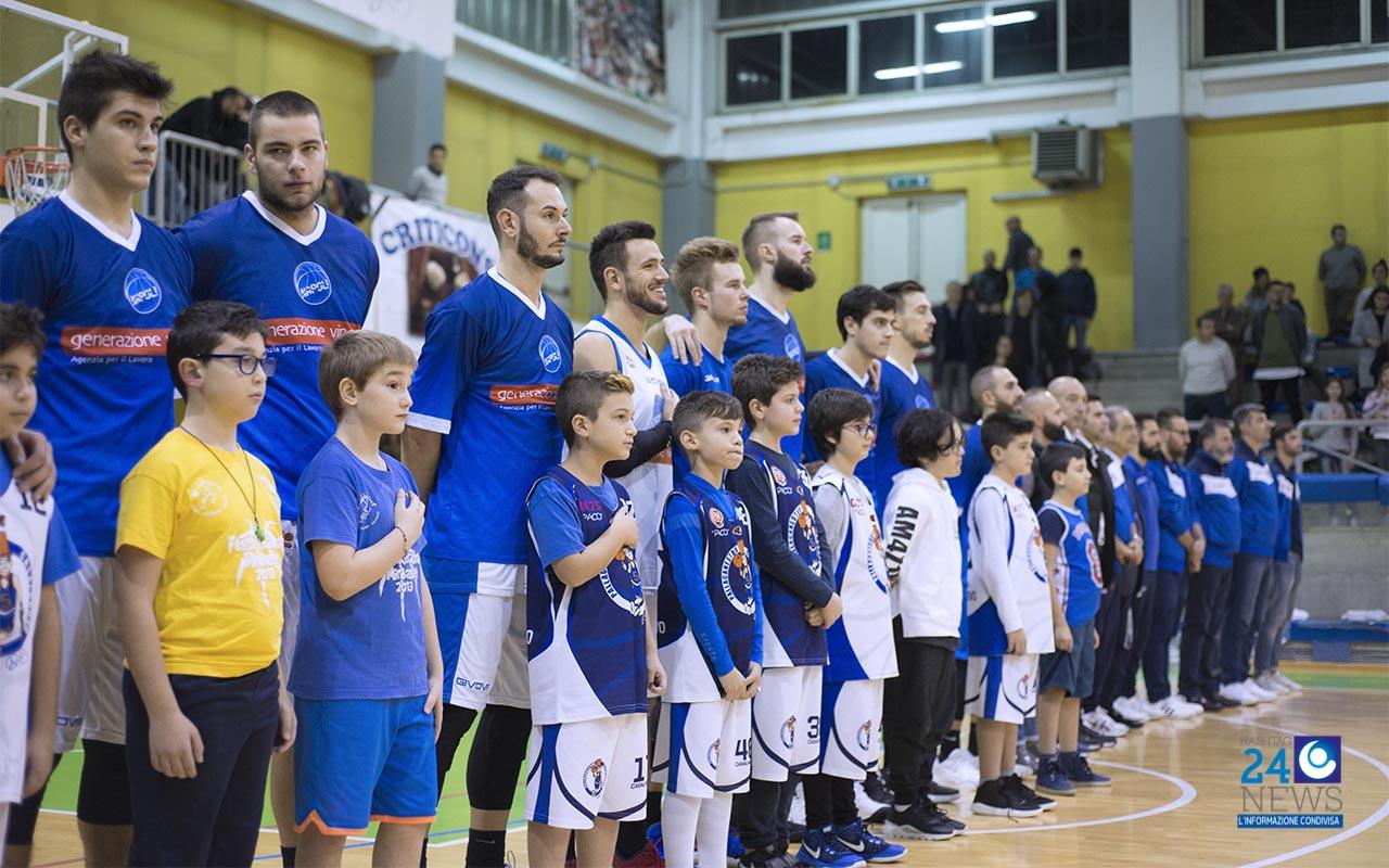 Napoli basket lotta fino alla fine, ma sul finale la spunta HSC Roma