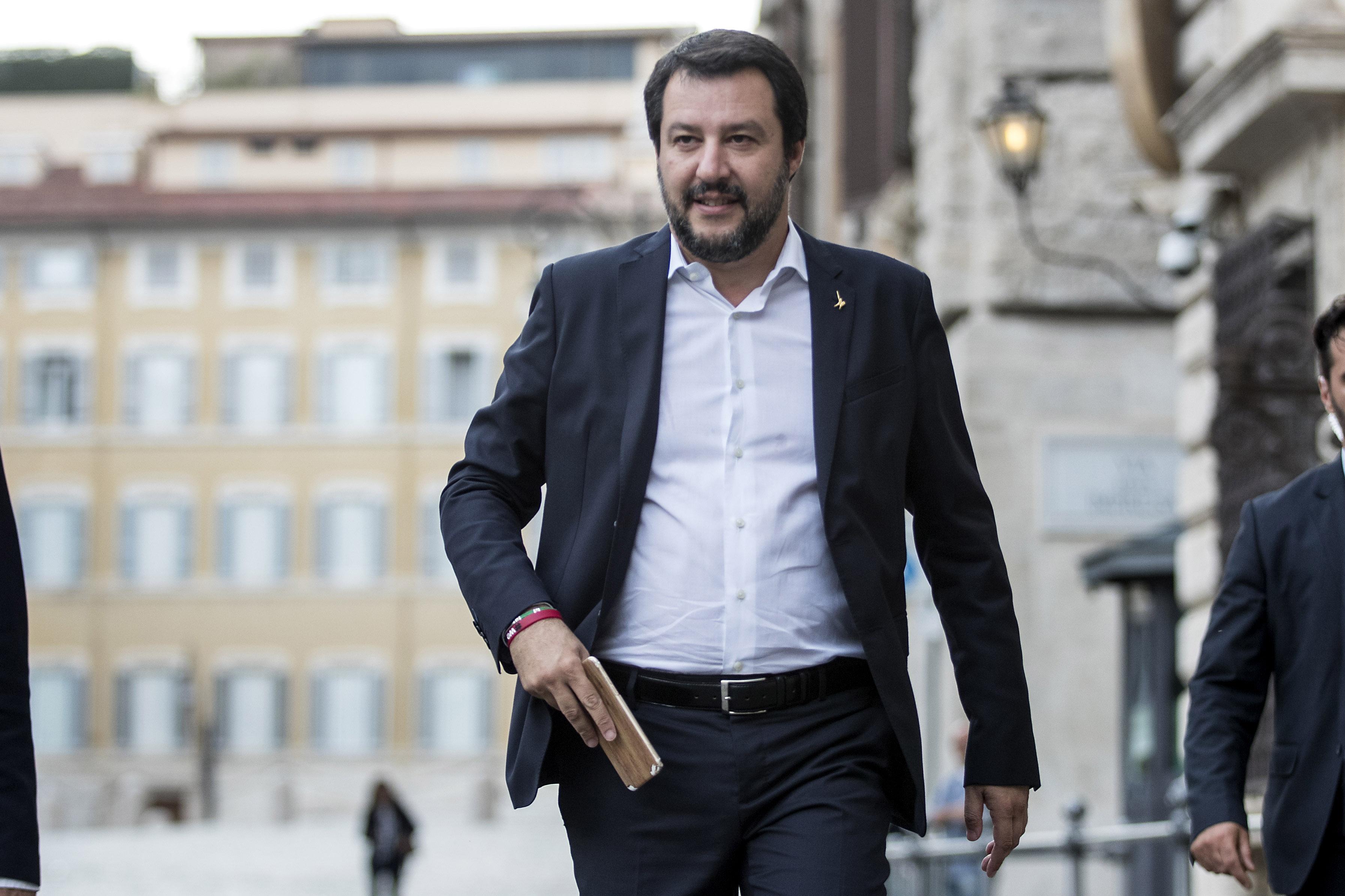 Open Arms, Salvini: Renzi? Credibilità zero, vuole solo salvare poltrona