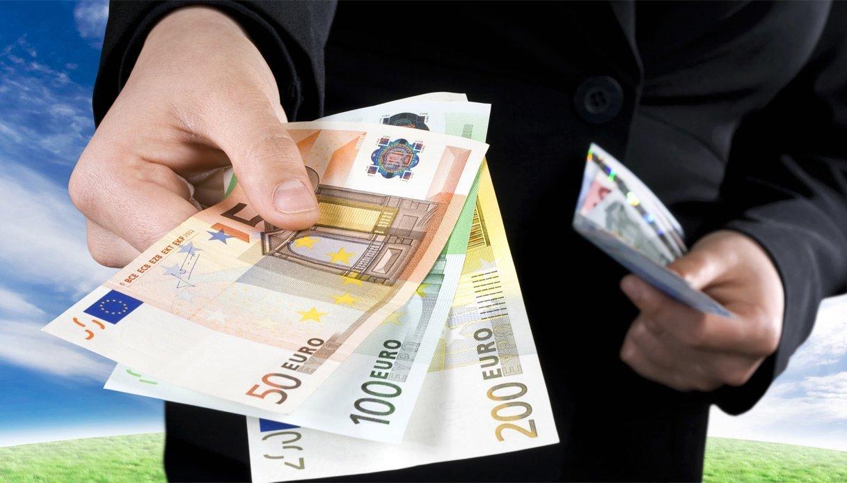 Contante, da oggi scatta la soglia a 2mila euro