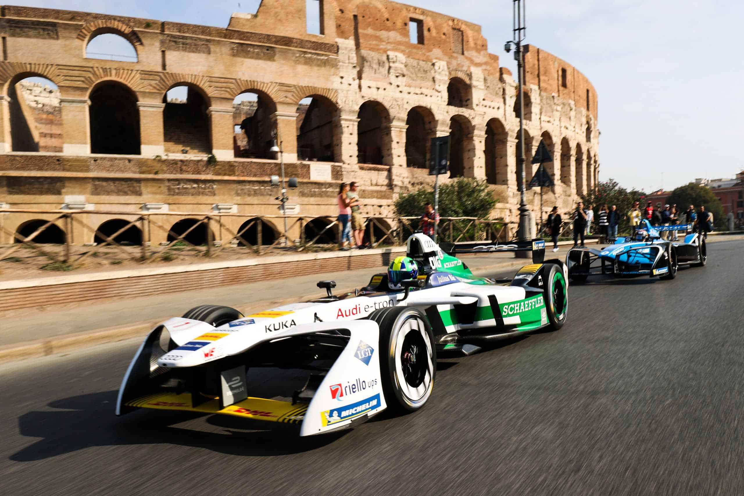 Formula E: calendario FIA provvisorio, 10 aprile 2021 gara Roma