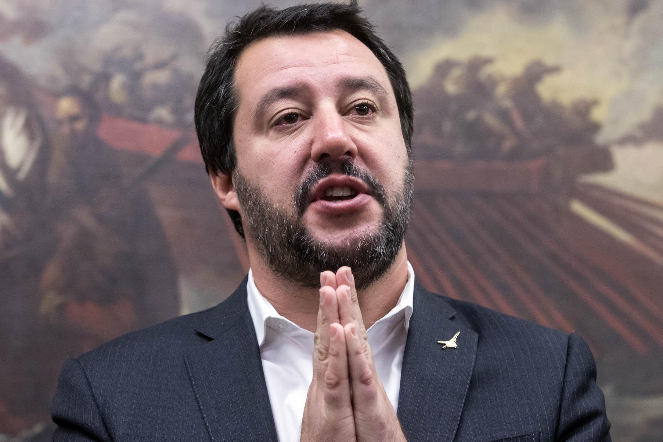 """Governo: Salvini, """"Conte mi odiava e a Di Maio non ero simpatico"""""""