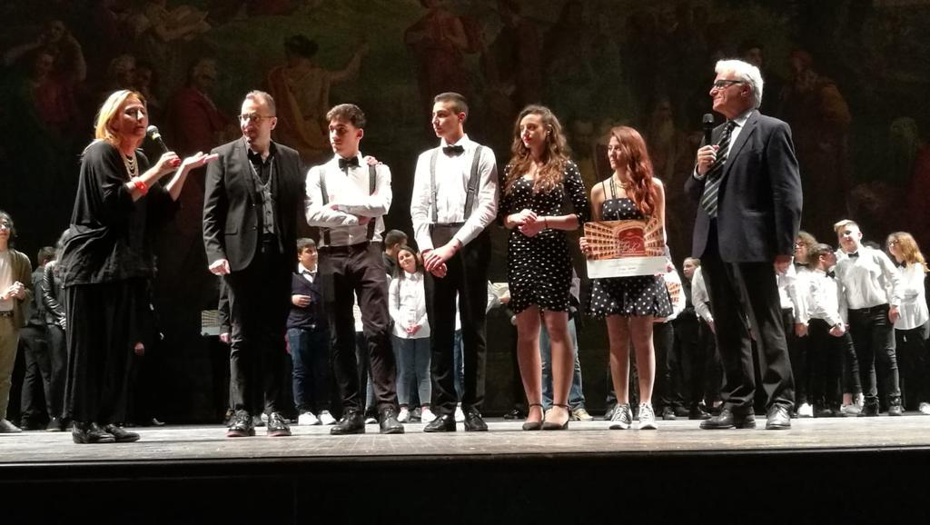 """Il liceo musicale Severi vince il premio """"Teatro San Carlo"""" di Napoli, Intagliato: """"Orgoglio e sentimento, fiero dei miei ragazzi"""""""