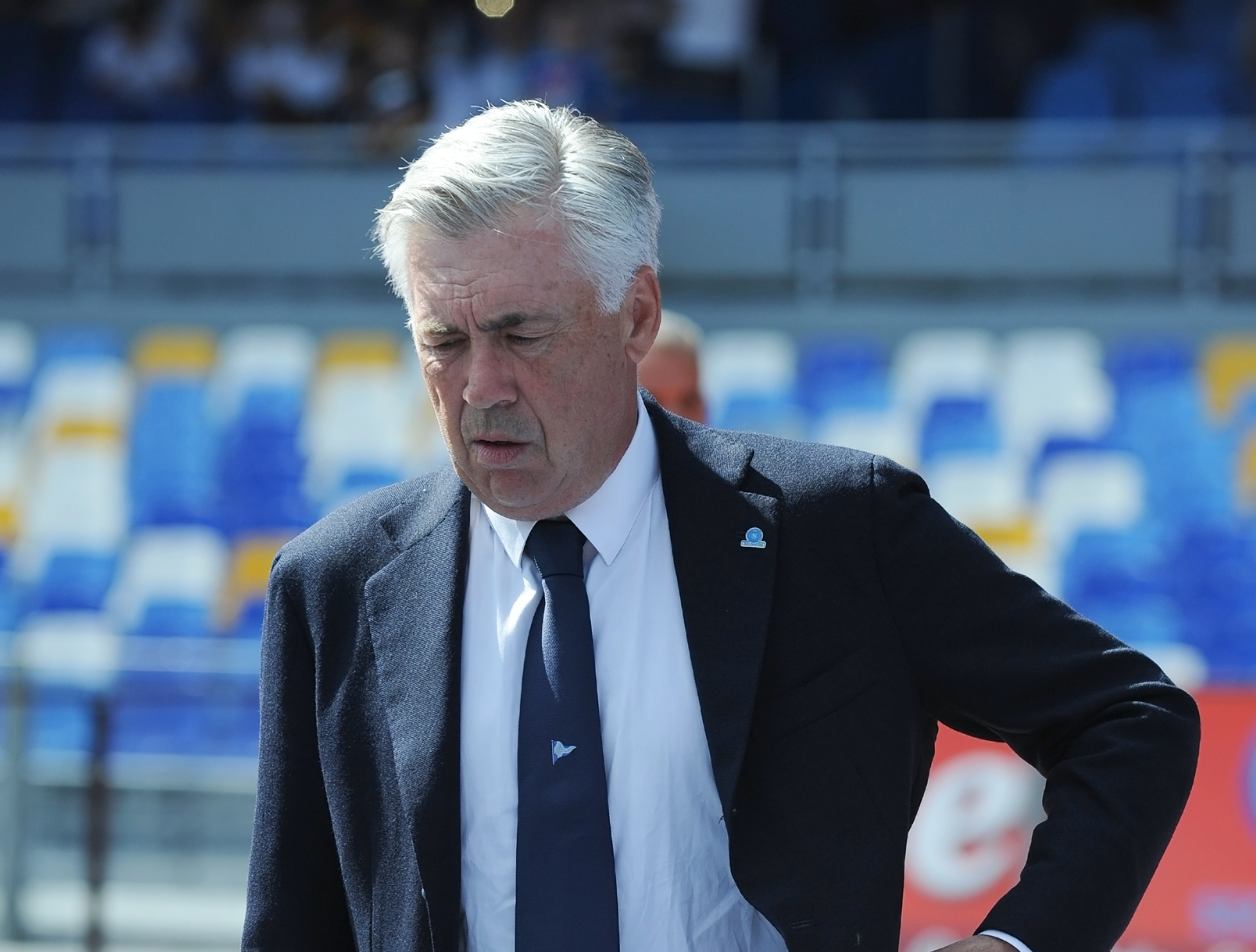 Calcio Napoli, Ancelotti: Con Salisburgo ci giochiamo tanto,voglio coraggio