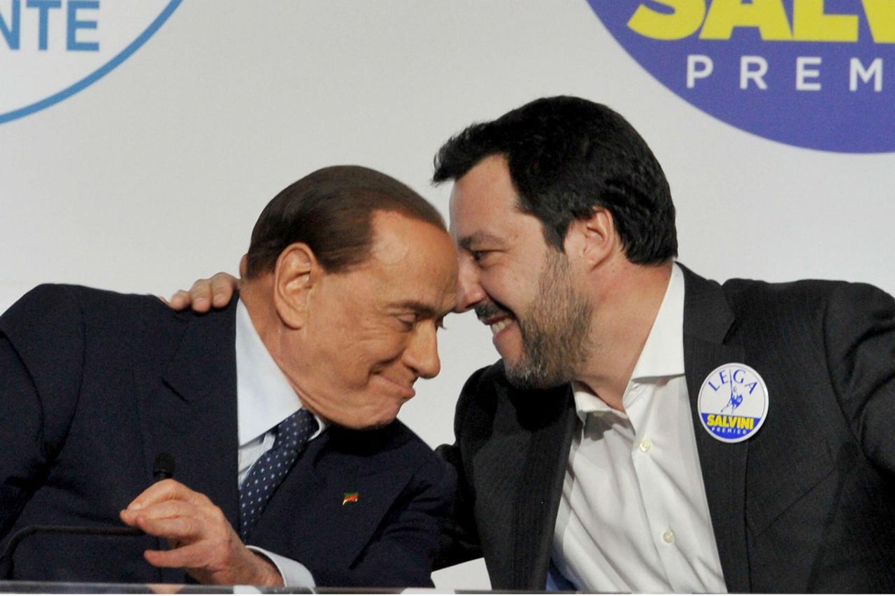 BERLUSCONI, NON MOLLO GUIDA DI FI, IO GARANTE SALVINI IN UE