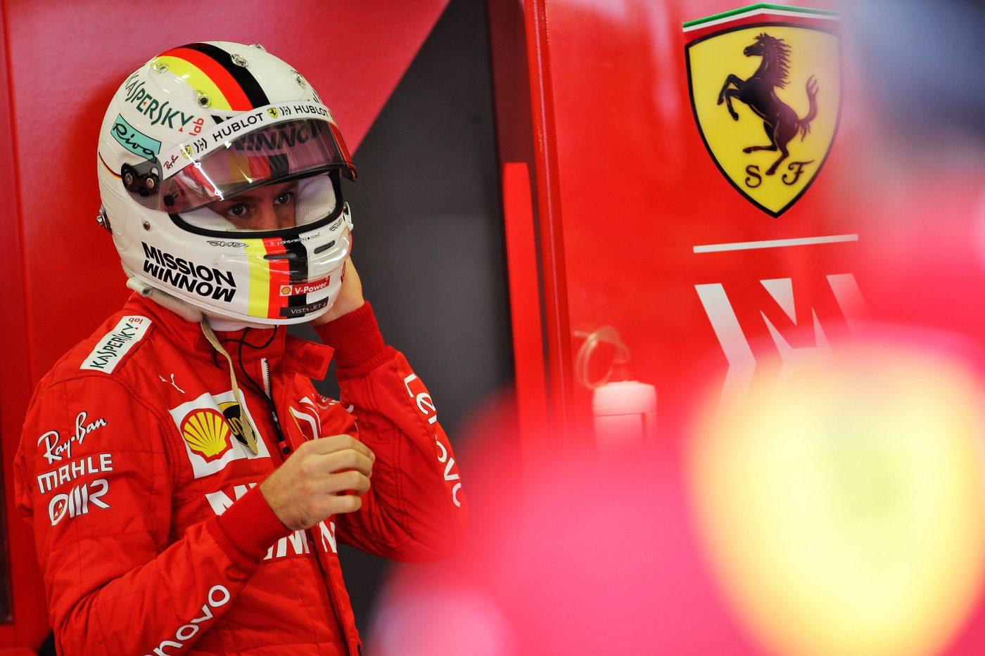 F1, Vettel: Fiducioso per la qualifica, possiamo migliorare molto