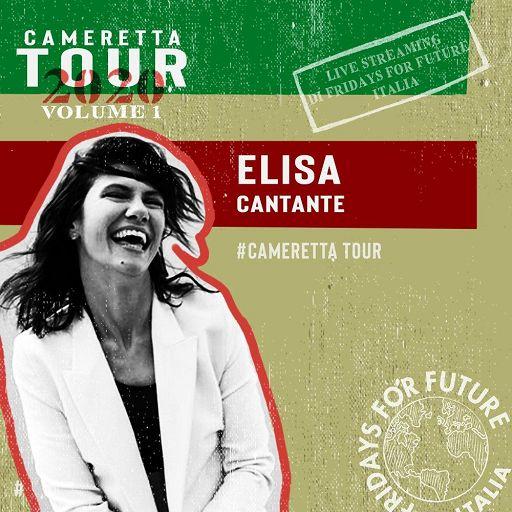 Elisa ospite di Fridays for future Italia Domani alle 19 sui canali Instagram e YouTube