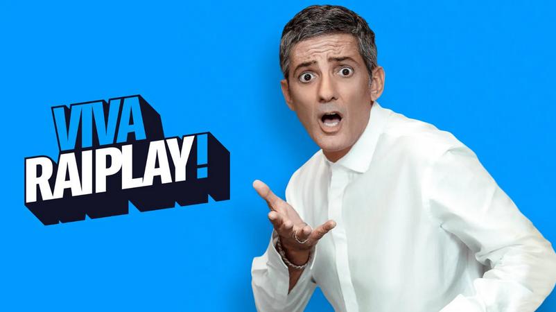 """TV, """"Viva Raiplay!"""": Fiorello dal 21 marzo il sabato in prima serata con il meglio"""