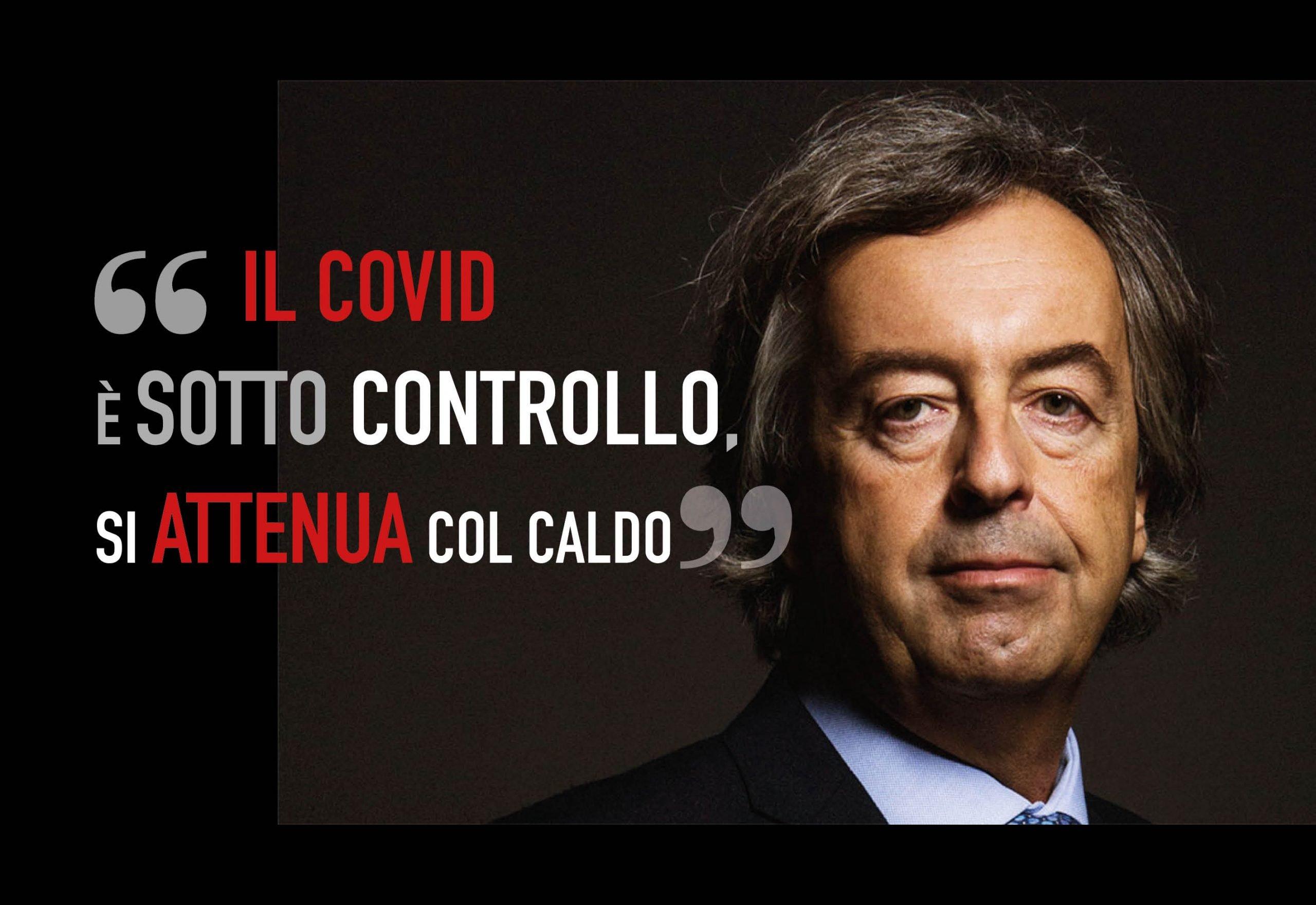"""Burioni fa sperare l'Italia: """"Il Covid è sotto controllo, si attenua col caldo"""""""