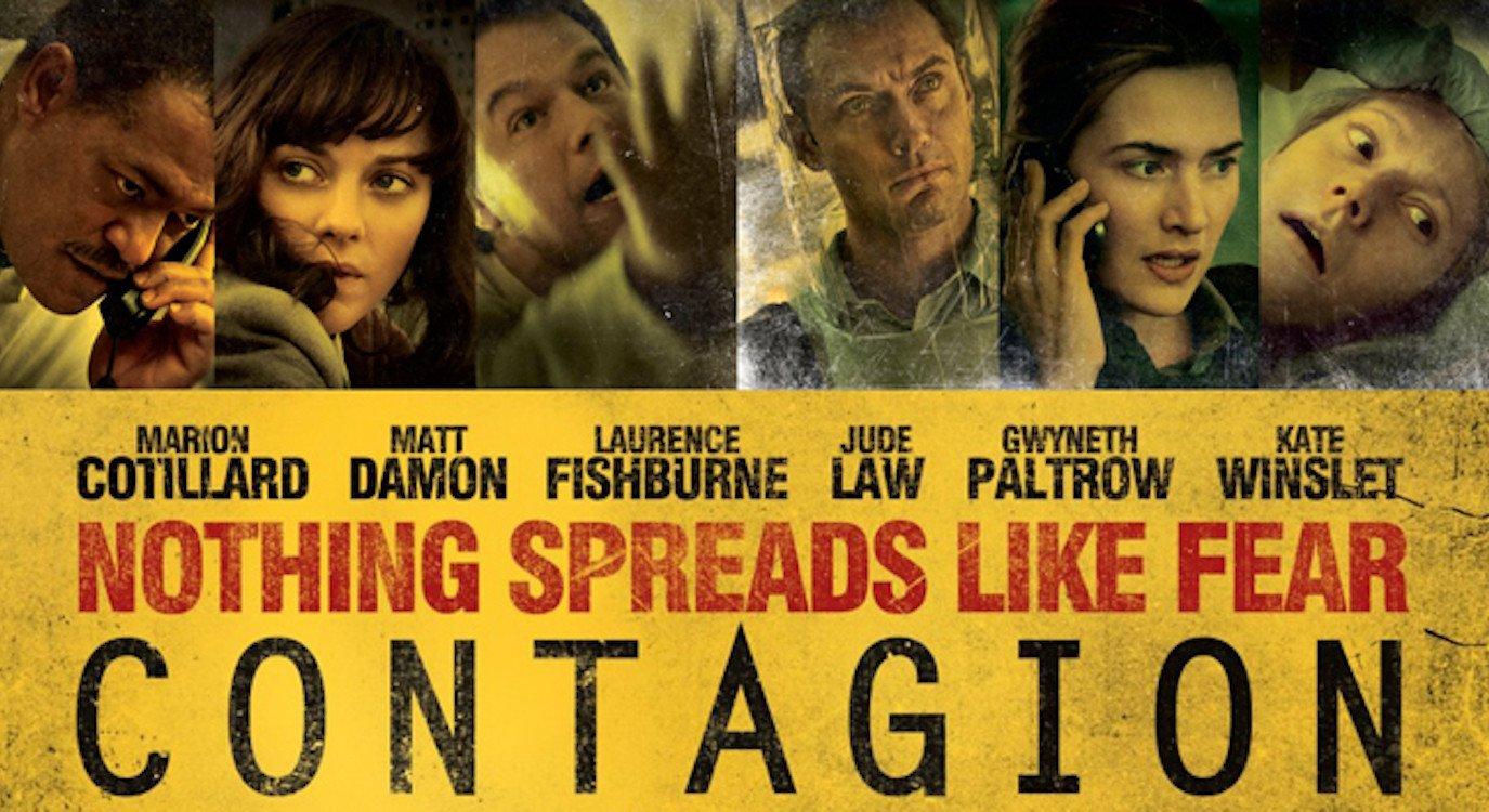 """""""Contagion"""", il film di Soderbergh che nel 2011 ha predetto il Coronavirus"""