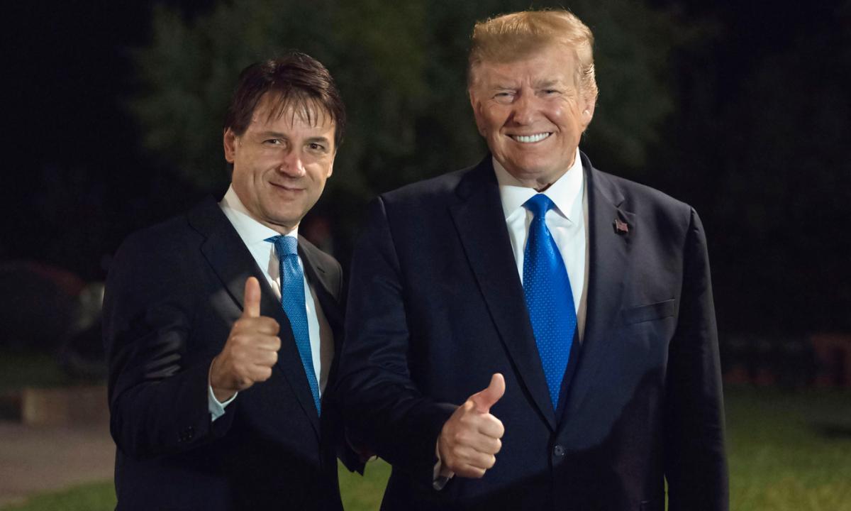 "Trump telefona a ""Giuseppi"": ""Gli Usa daranno all'Italia 100 milioni di dollari"""
