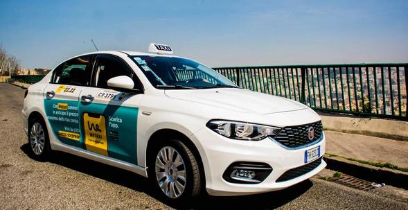 """Coronavirus: anche a Napoli arriva l'app """"Wetaxi Delivery"""" per trasporto merci via Taxi"""