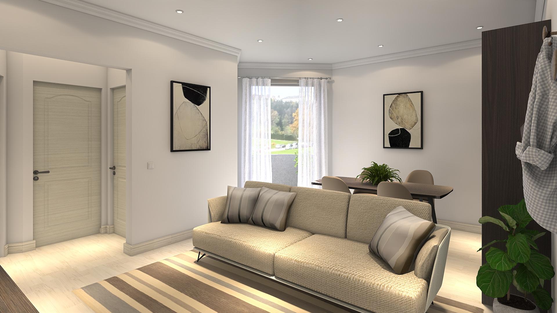 Ristrutturare case con pareti oblique, rendendo gli ambienti complicati funzionali.