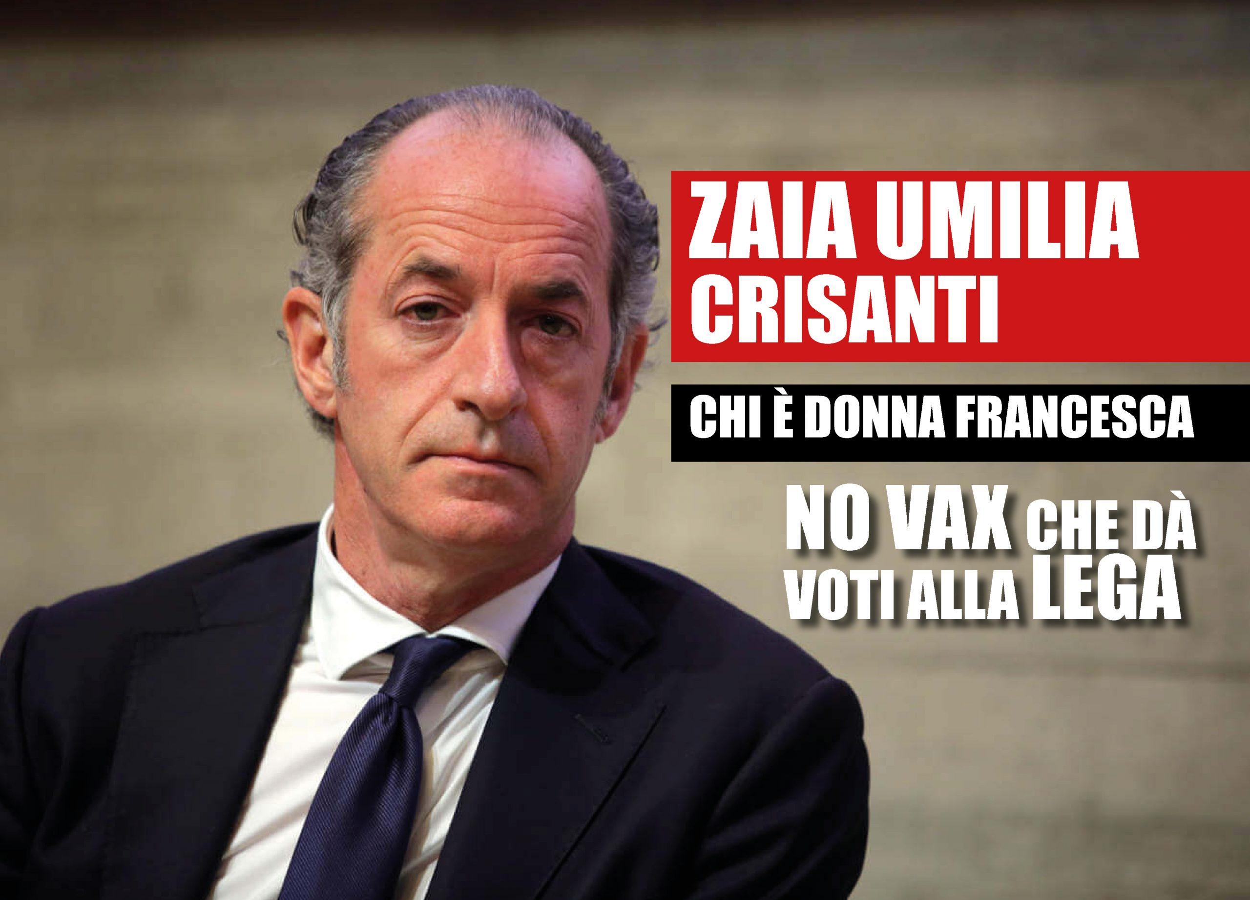 """Luca Zaia chiama i no vax: """"Voglio elezioni già a luglio"""""""