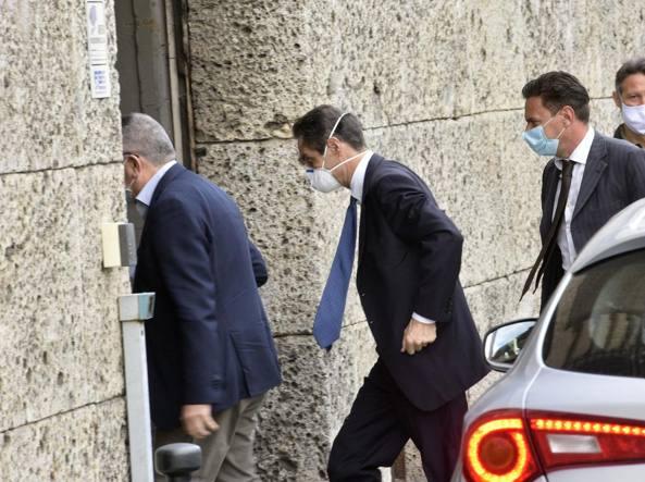 Attilio Fontana è in Procura a Bergamo, interrogato da due magistrati