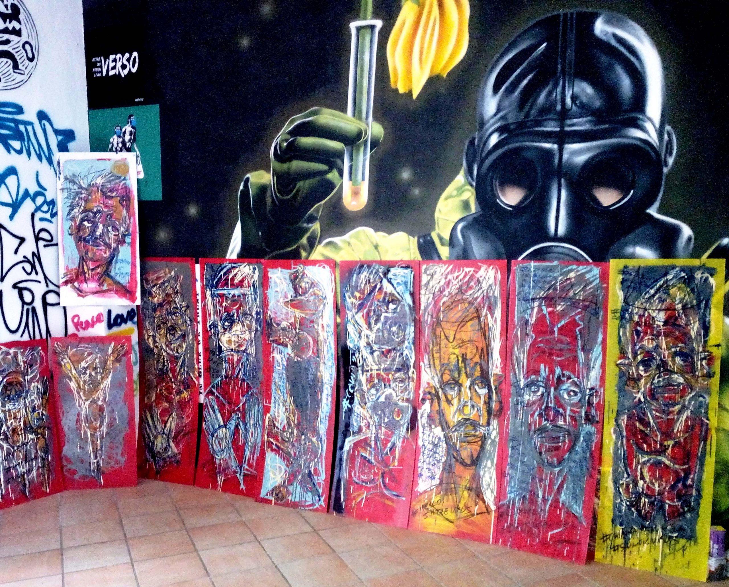 "Ischia Street Art Gallery presenta Mimmo Di Caterino in ""Lockdown/Social"""