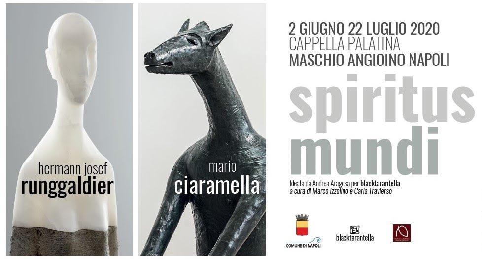 Spiritus Mundi è il titolo della doppia personale di Hermann Josef Runggaldier e Mario Ciaramella