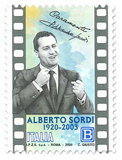 Cinema. Francobollo celebra Alberto Sordi in centenario nascita