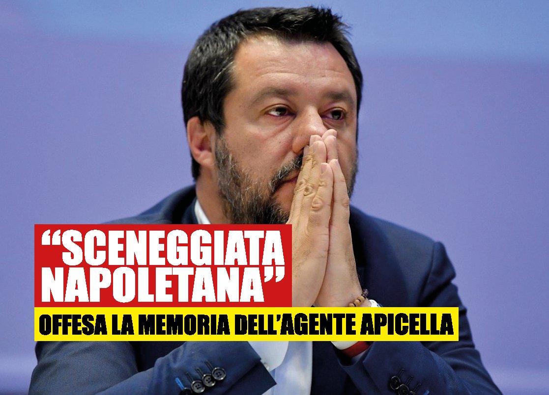 Salvini a Napoli, visita flop: fallisce la sfida a De Luca