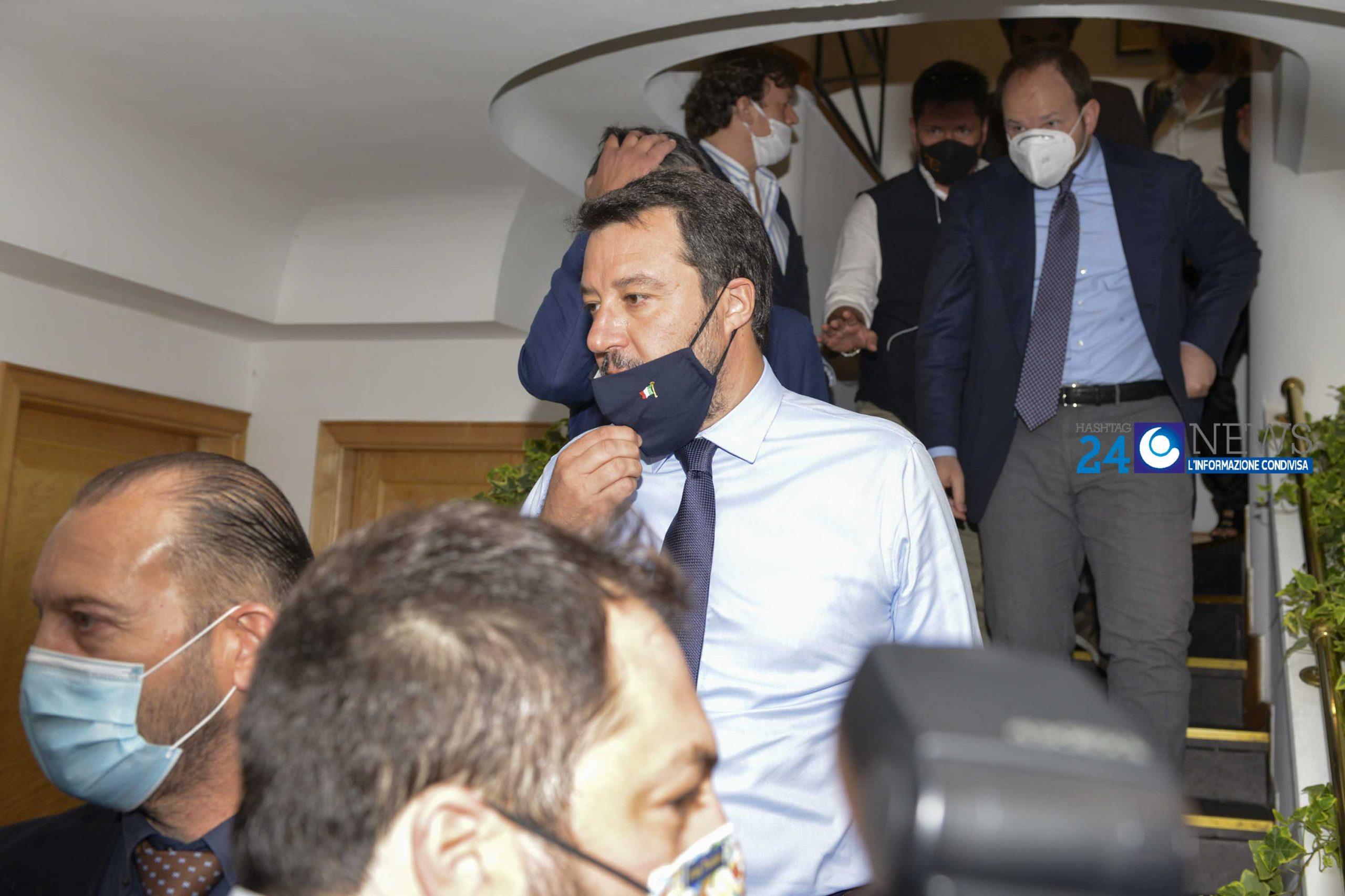 Salvini: il Mes? Anche l'usuraio ti propone soldi comodi