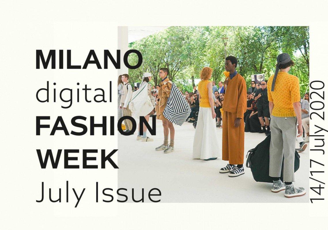 Moda, dal 14 al 17 luglio Milano Digital Fashion Week