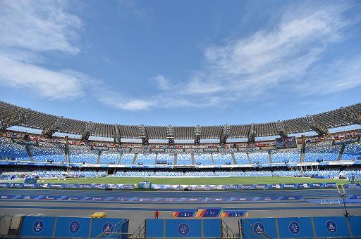 Domani Napoli-Inter, sanificato il San Paolo