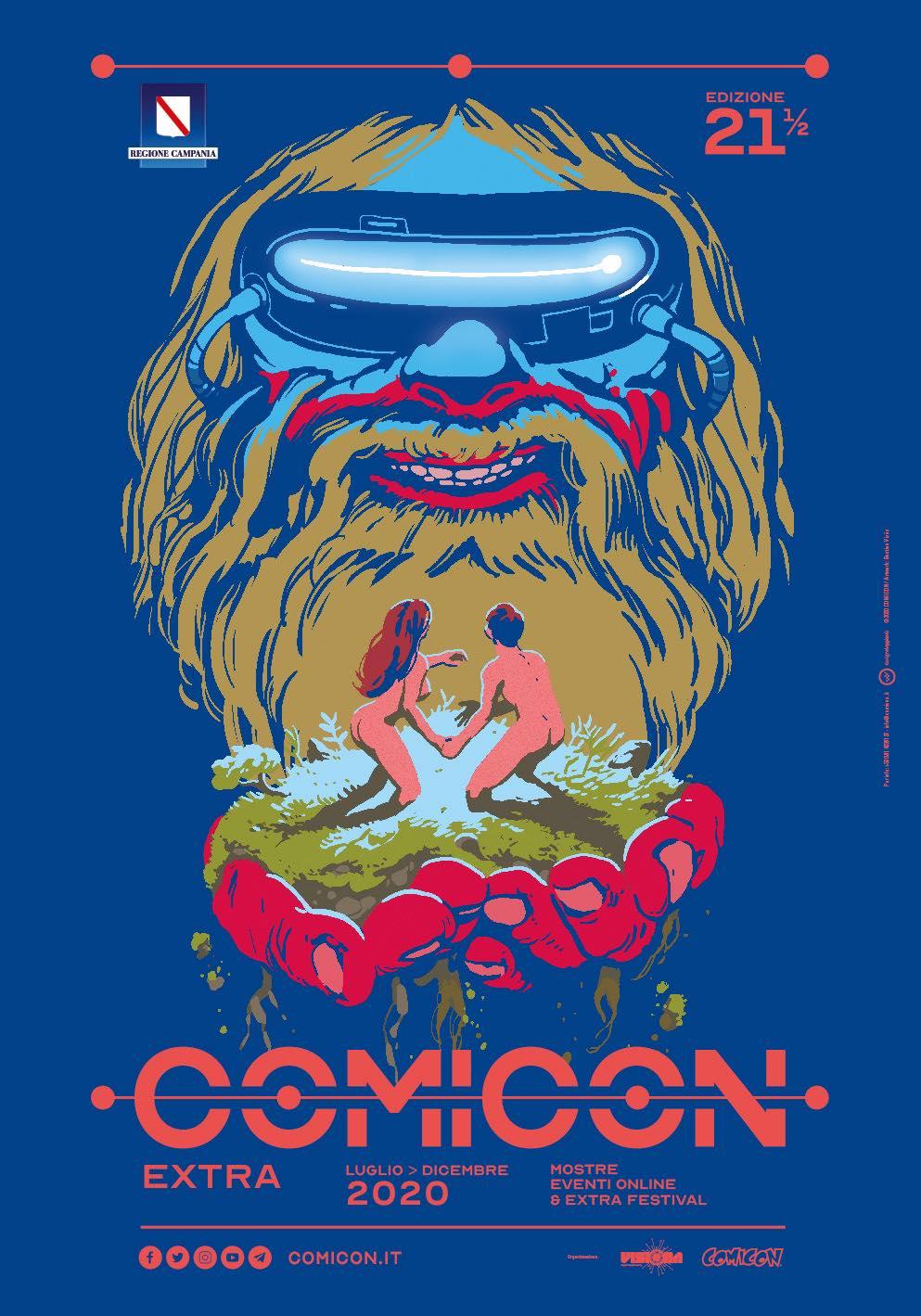 """Nasce """"Comicon Extra"""": mostre, incontri ed eventi on line per tutto il 2020"""