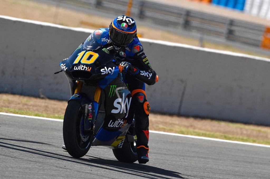 A Jerez vince in Moto2 Luca Marini, fratello di Valentino Rossi