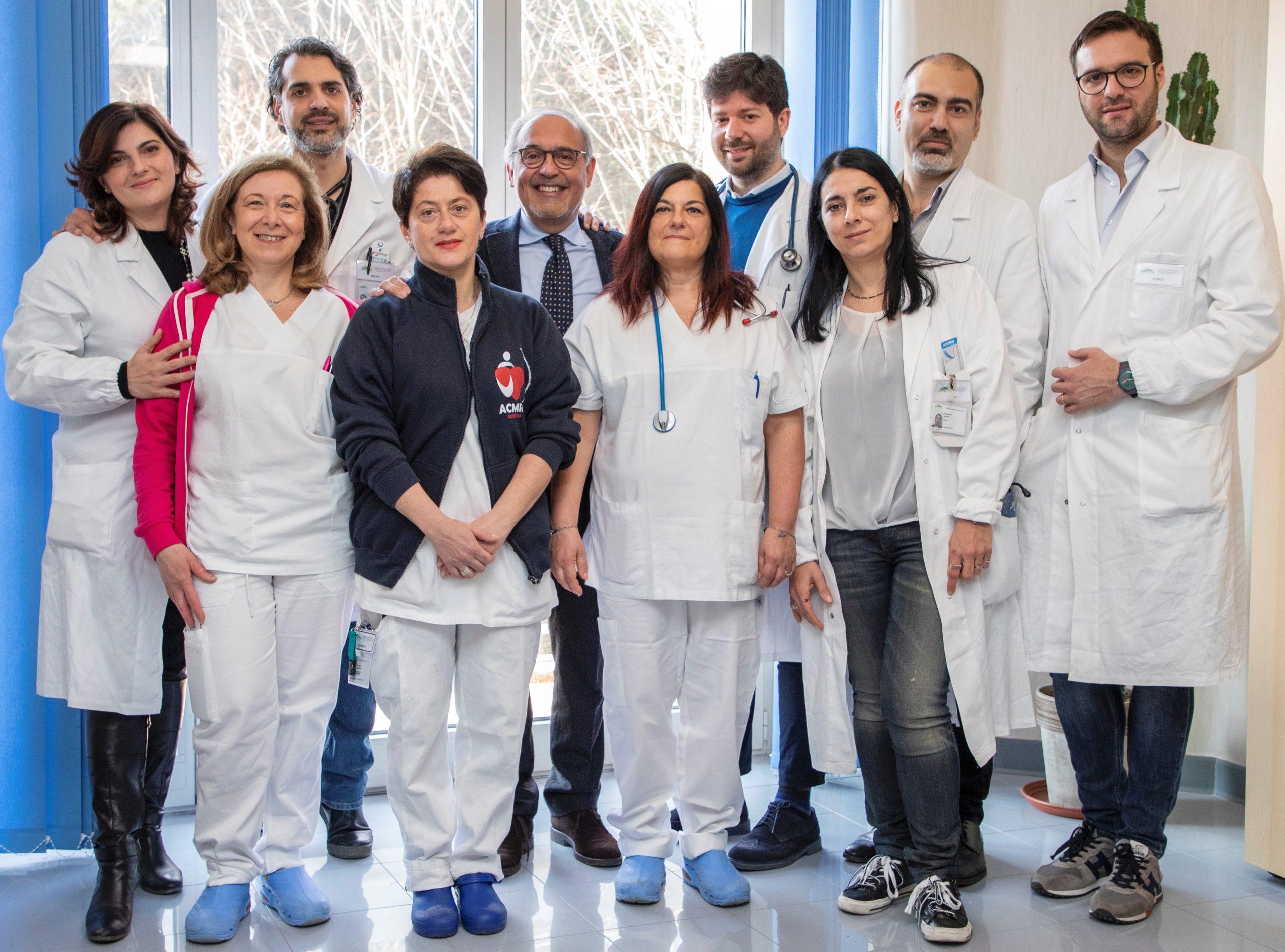 Ospedale Monaldi di Napoli, all'avanguardia per il trattamento dell'insufficienza cardiaca avanzata.