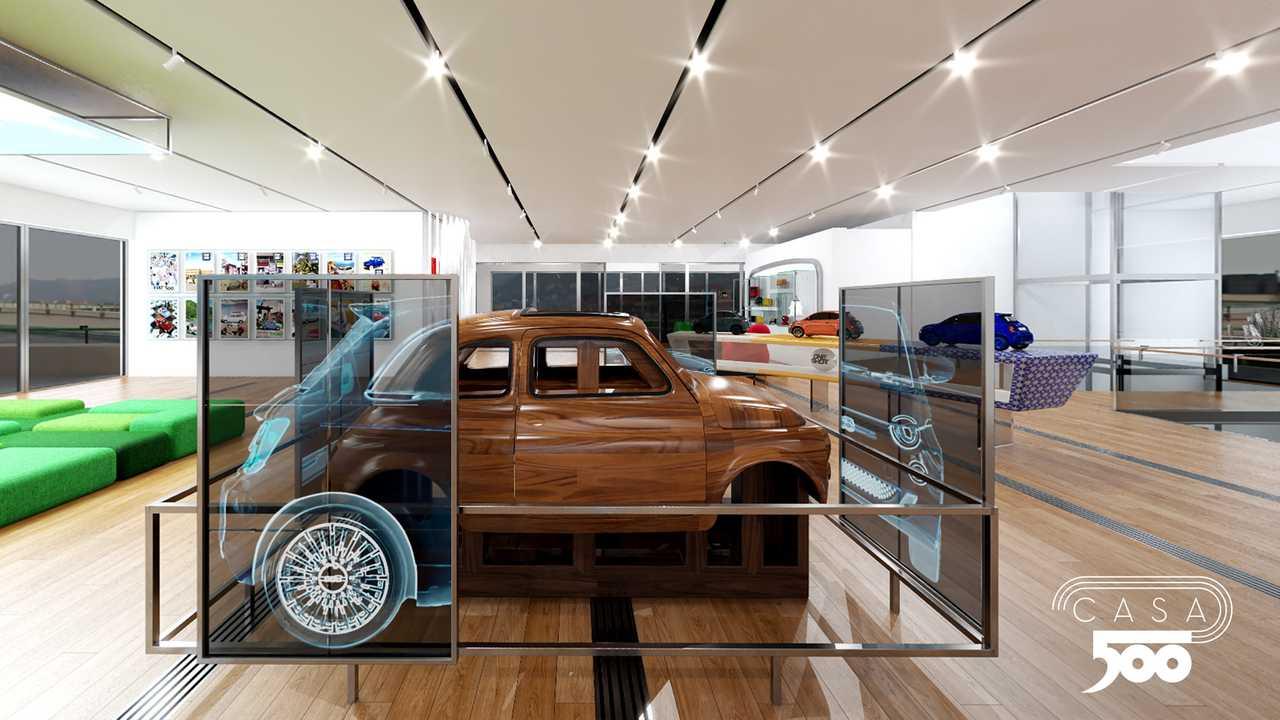 """Motori: Inaugurata la Virtual Casa 500, via ordini nuova """"prima"""" Cabrio"""