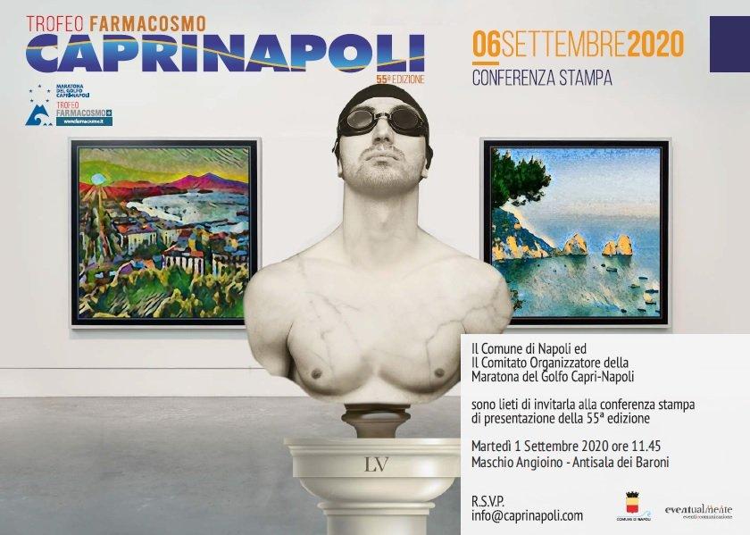 Capri-Napoli trofeo Farmacosmo, è il momento dell'edizione 2020 della gara di nuoto di fondo