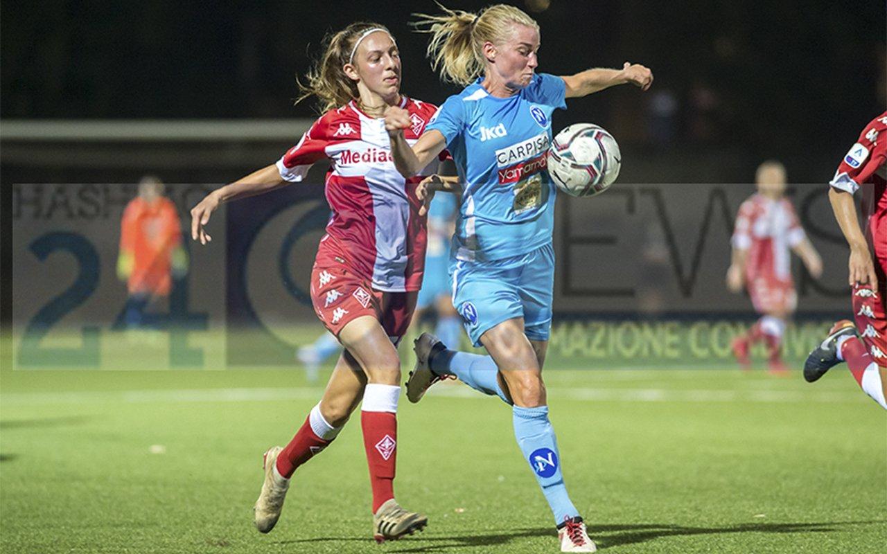 Napoli Femminile cade in casa contro la Fiorentina