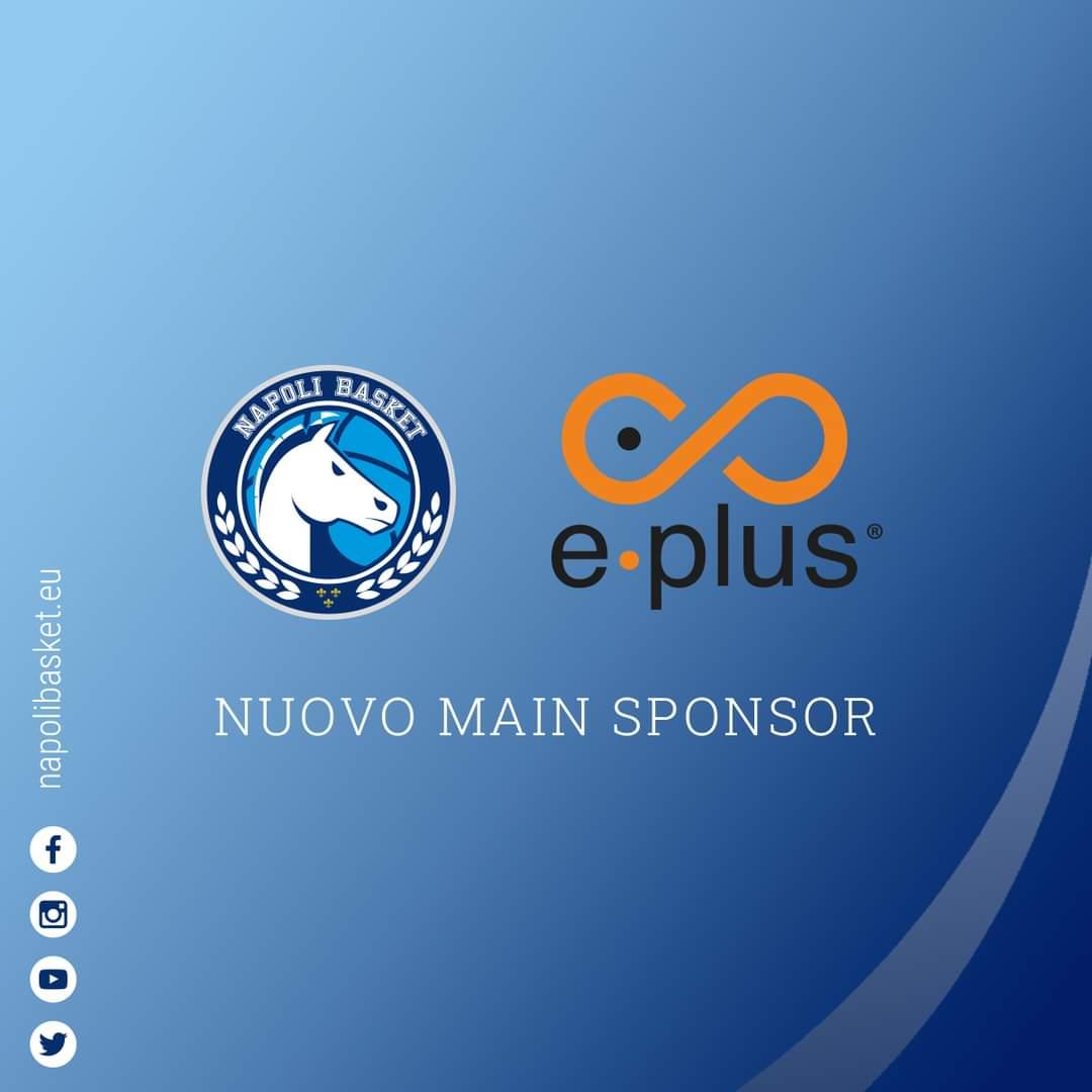 GeVi Napoli: Eplus è il nuovo main sponsor