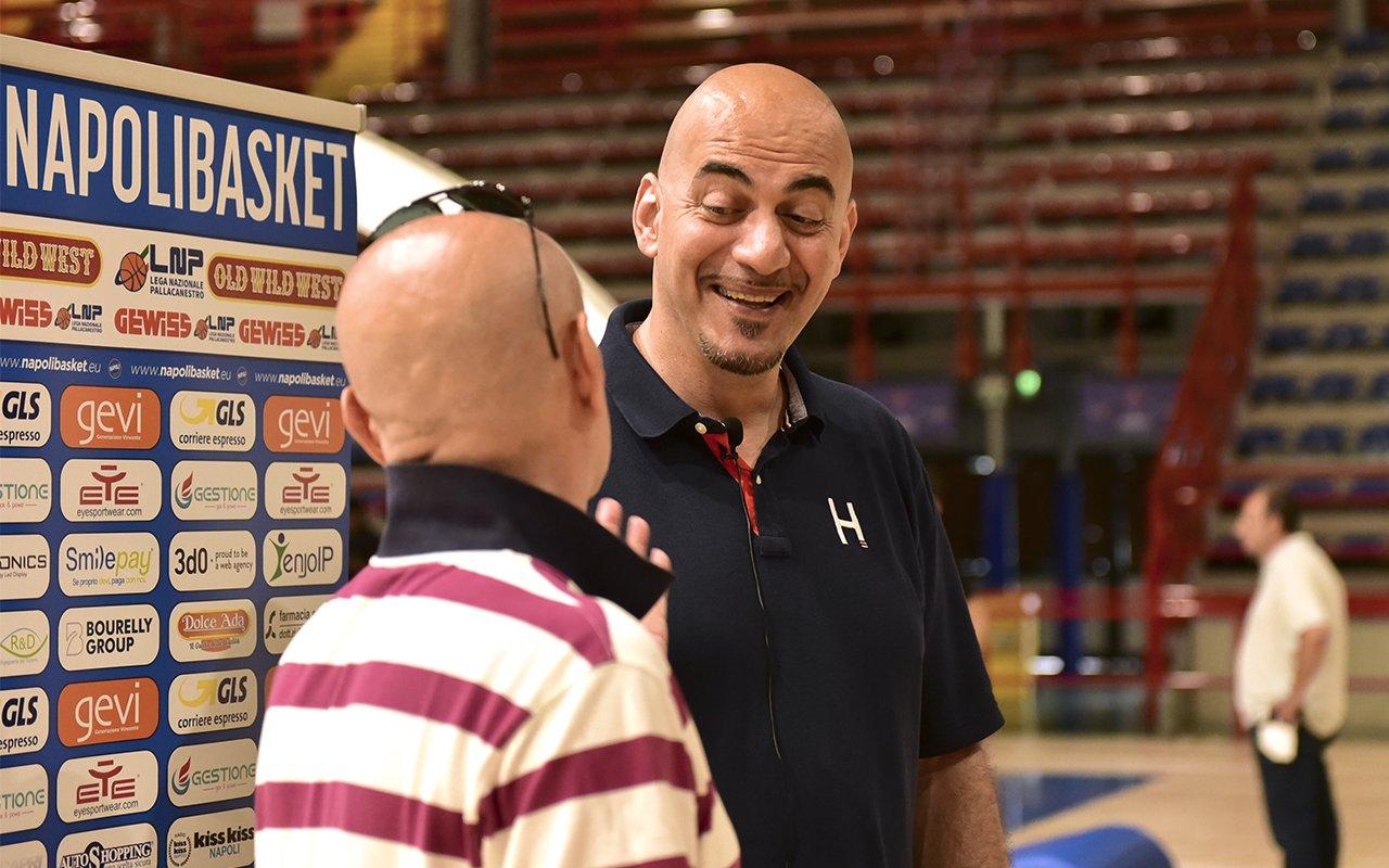 Mimmo Morena torna in campo: giocherà nel Napoli Basket Accademy in C Silver