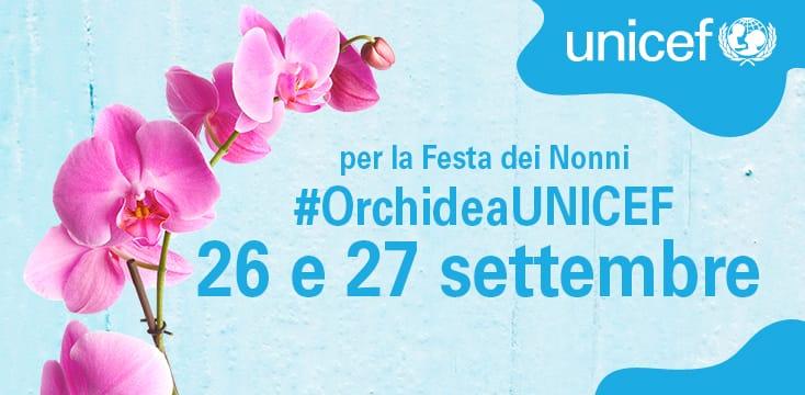 Minori: Unicef, torna l'orchidea in 2.300 piazze in Italia