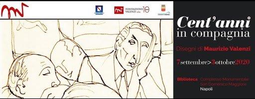 """Arte, a Napoli la mostra """"Cent'anni in compagnia"""" con i disegni di Valenzi"""