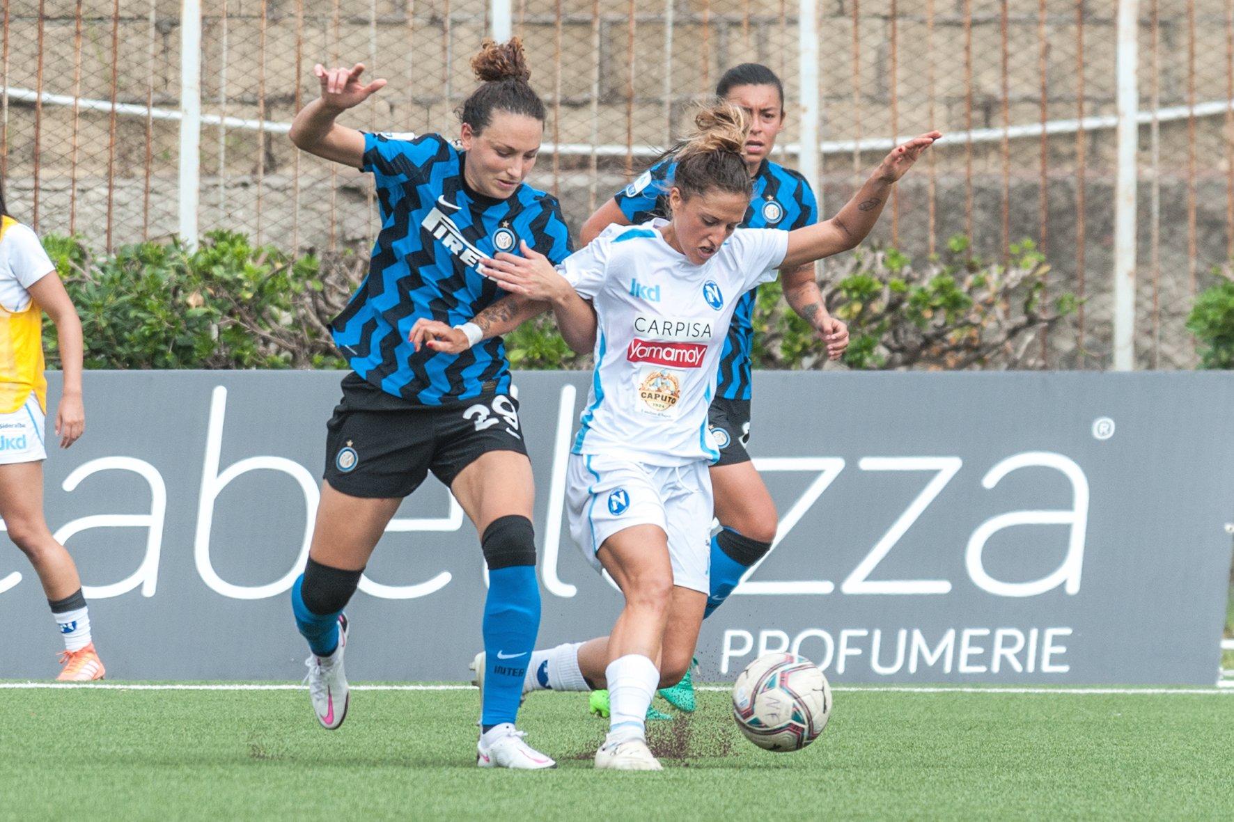 Calcio. Primo punto per il Napoli Femminile dopo tre sconfitte
