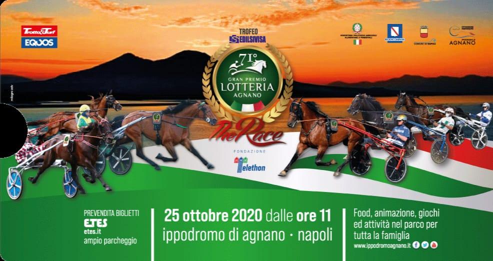 """""""Gran Premio Lotteria Agnano"""". Domenica la gara"""
