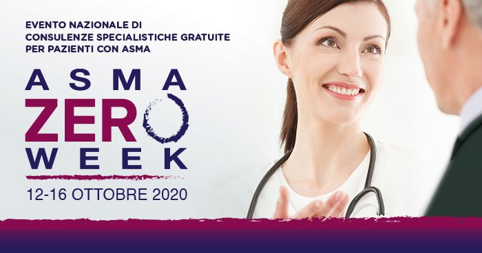 "Salute, dal 12/10 torna ""Asma zero week"": visite gratuite in tutta Italia"