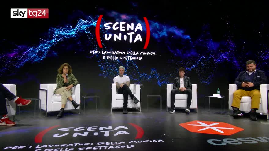 """Spettacolo: Nasce """"Scena unita"""", da Fedez a Verdone in 70 per i lavoratori in crisi"""