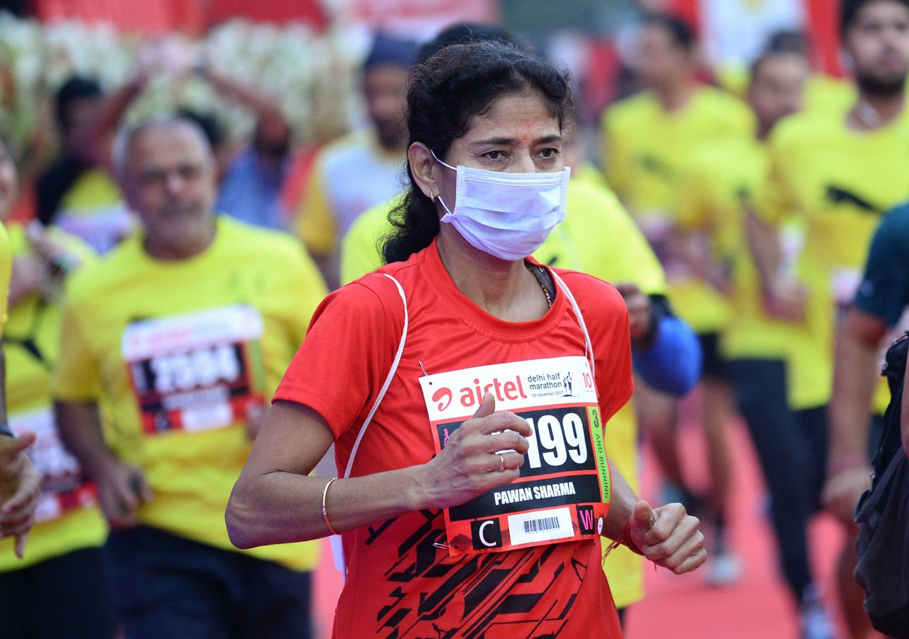 La mezza maratona di New Delhi, in programma per domenica, rischia di essere un suicidio.
