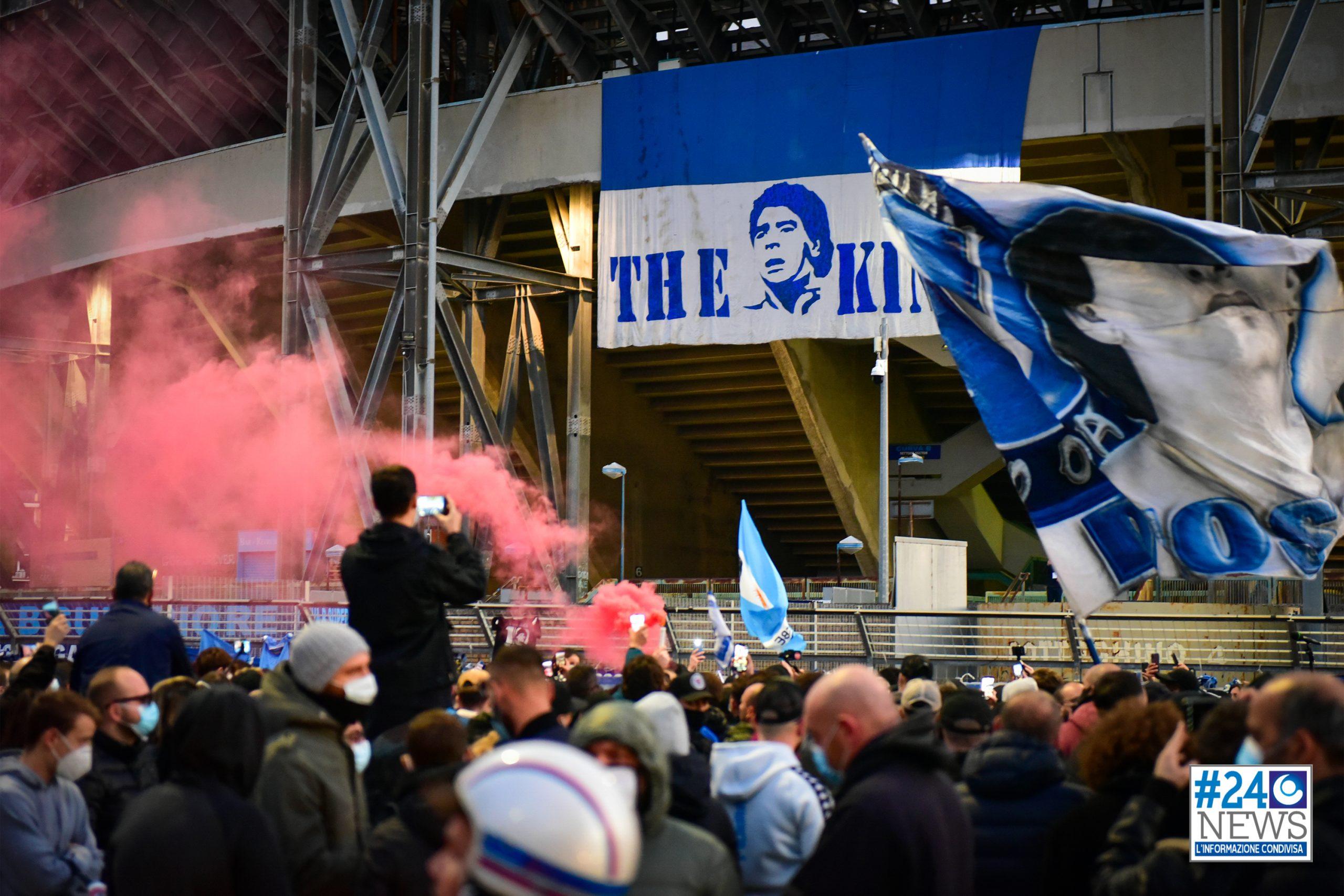 Napoli. Una vittoria nel ricordo di Diego Maradona.