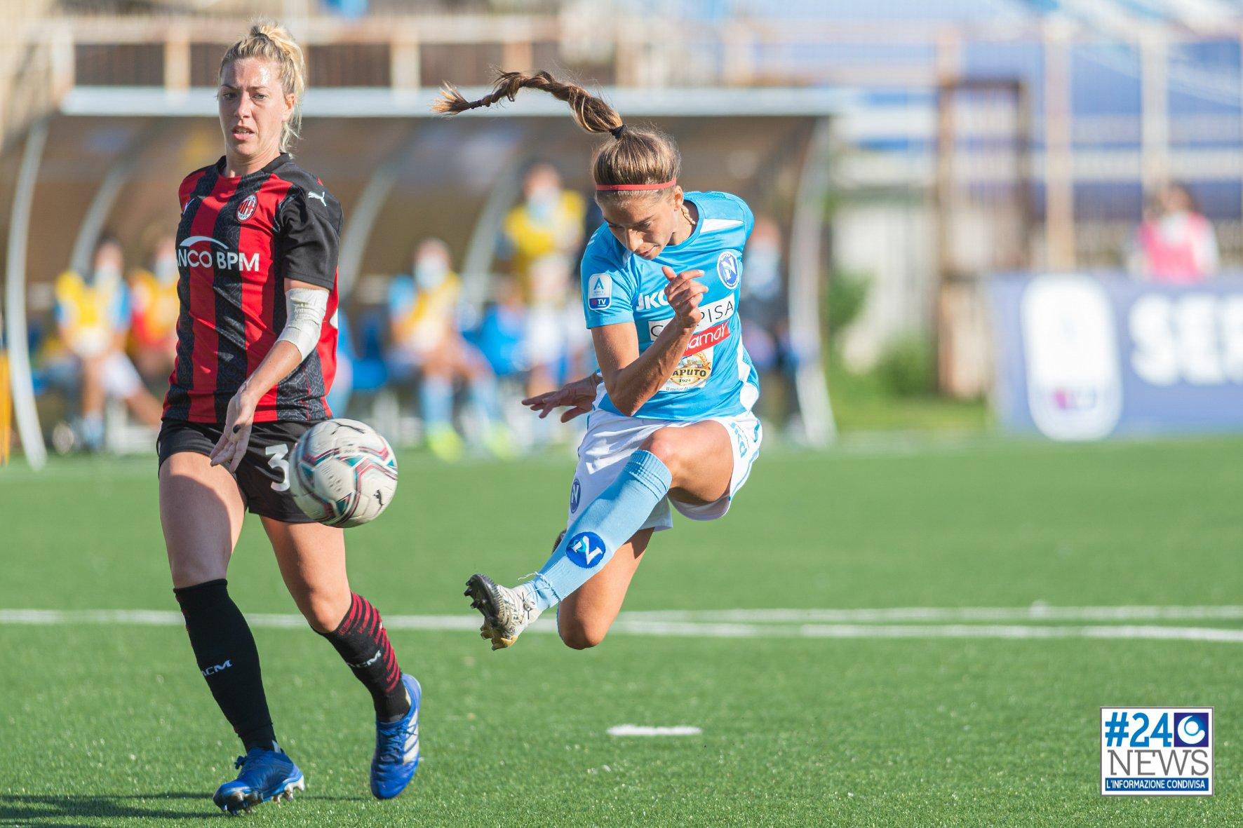 Napoli Femminile – domani in Coppa con il Sassuolo, obbligatorio vincere