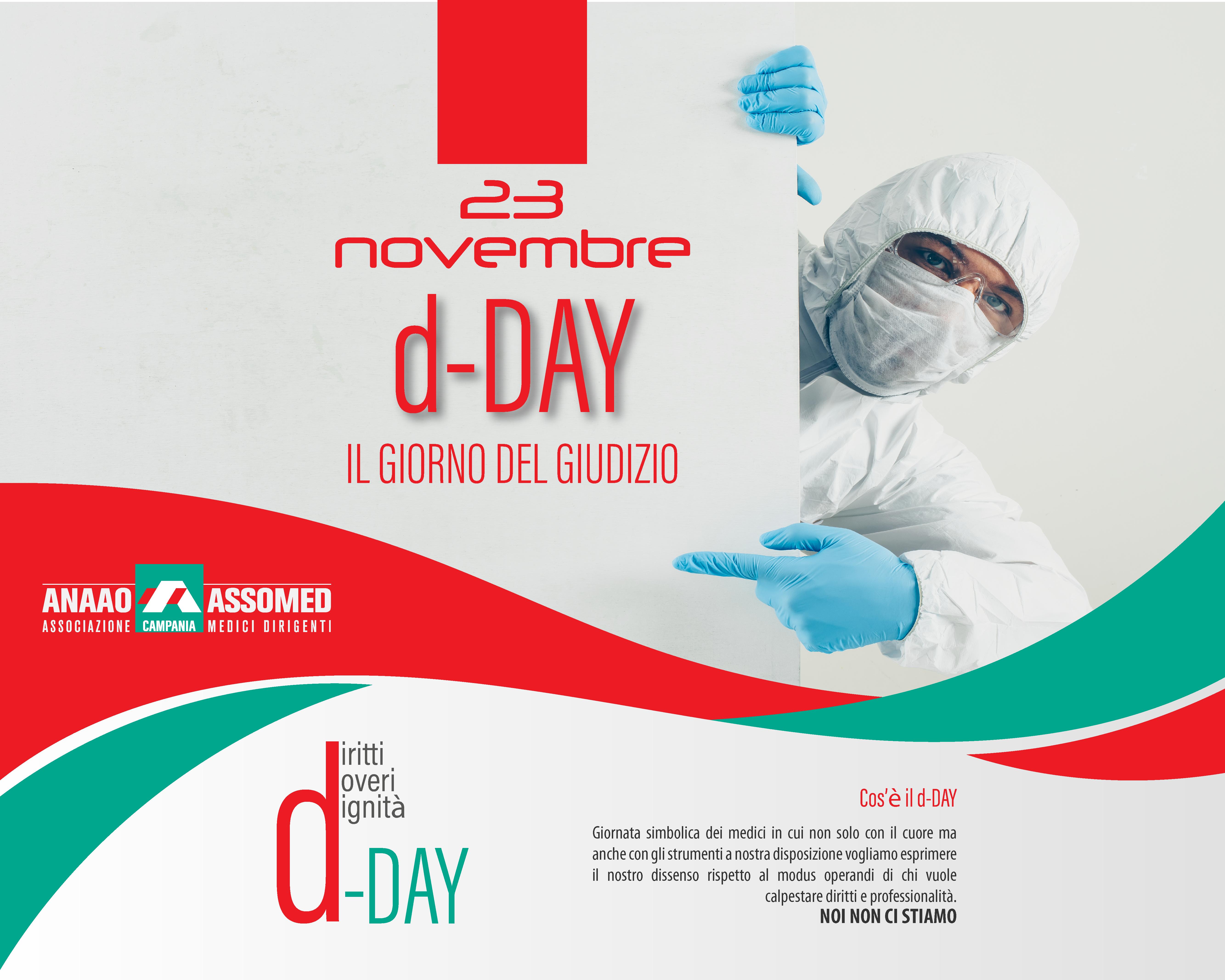 I medici diffidano le aziende sanitarie. d-Day, una protesta virtuale dei camici bianchi dell'Anaao in Campania