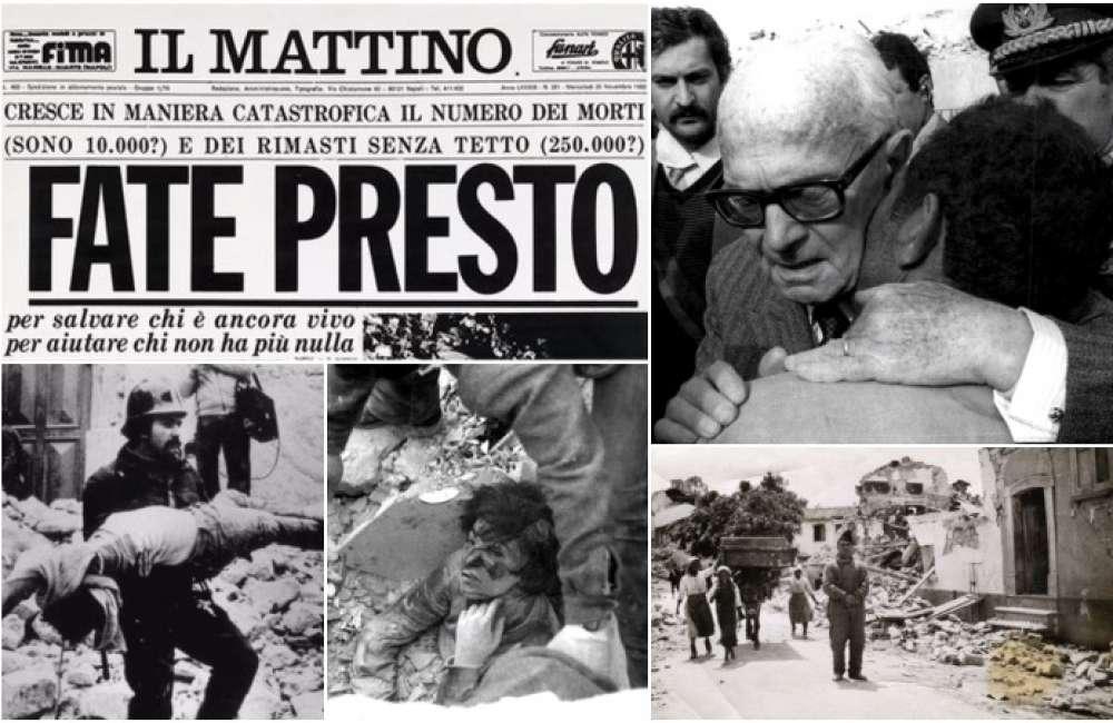 40 anni fa una scossa di magnitudo 6.9, rase al suolo l'Irpinia. Rocostruzione infinita