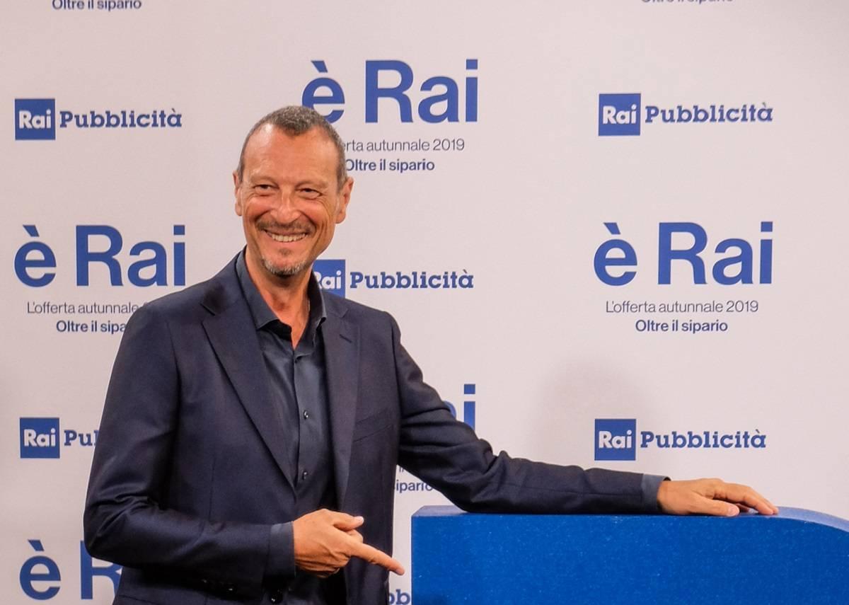 """Sanremo: Amadeus, """"colpire il Festival è un danno al tutto il mondo dello spettacolo"""""""
