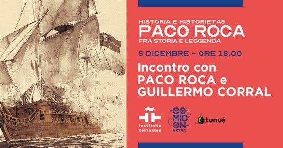Instituto Cervantes di Napoli e Comicon, presentano incontro virtuale conPaco Roca
