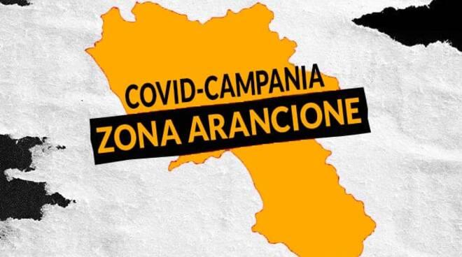 Coronavirus, Campania in zona arancione da domenica