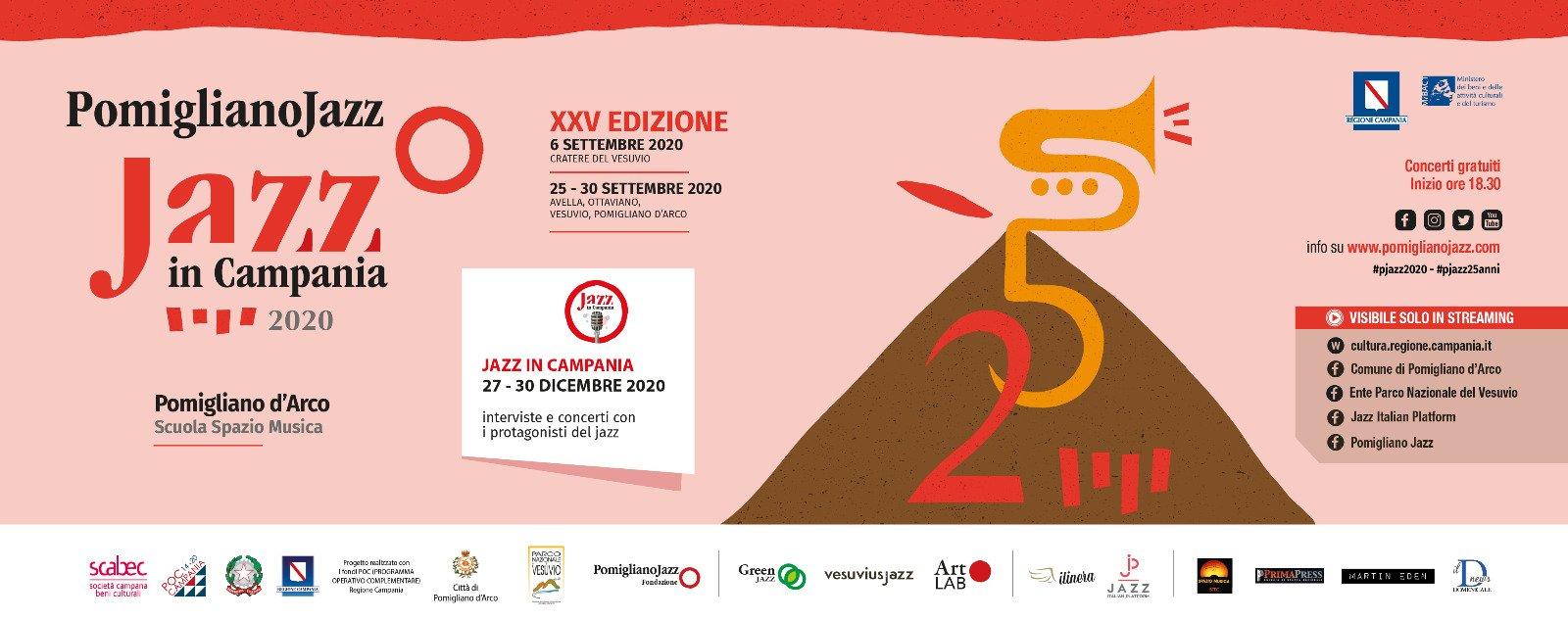 Pomigliano jazz, xxv edizione: dal 27 al 30 dicembre