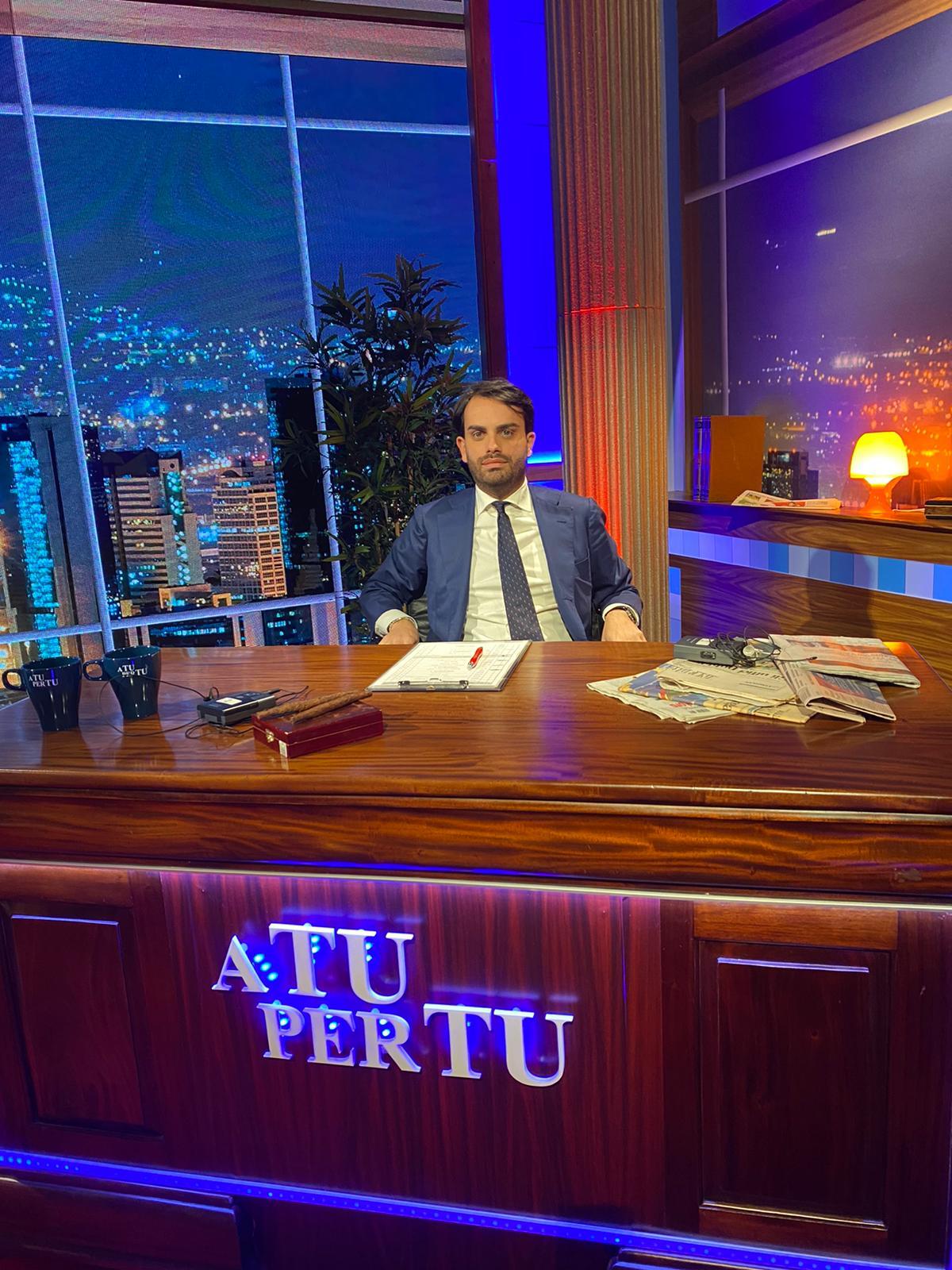 """Parte """"A Tu per Tu"""" talk show condotto da Lorenzo Crea. In onda si PiùEnne e Gt Channel"""
