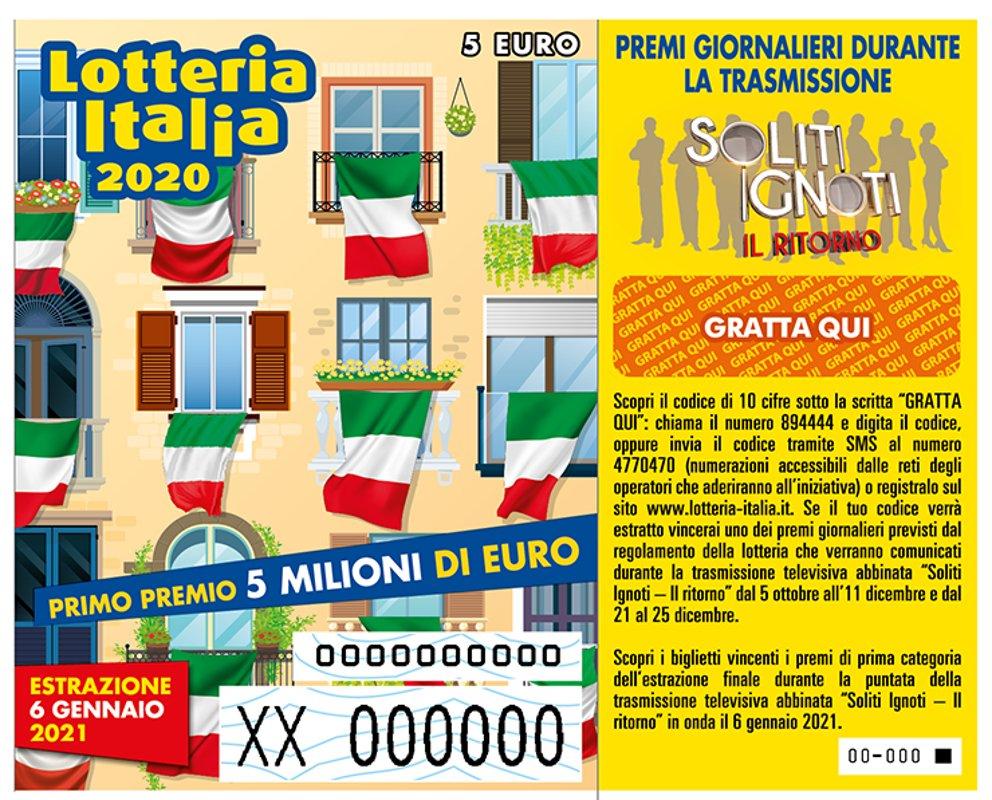 Lotteria Italia: Primo premio da 5mln venduto a Pesaro
